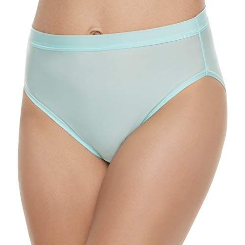 (Vanity Fair Womens Light and Luxurious Hi Cut Panty, 6, Mint Condition)