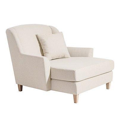 Max Winzer Love-Seat Judith, Leinen-Optik, inkl. 1 Zierkissen creme