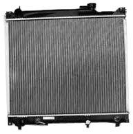 TYC 2087 Suzuki Sidekick 1-Row Plastic Aluminum Replacement Radiator -