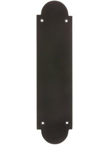 Arch Design Push Plate in Oil Rubbed Bronze