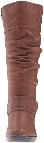 Easy Street Womens Jayda Western Boot Tan SGEKSF