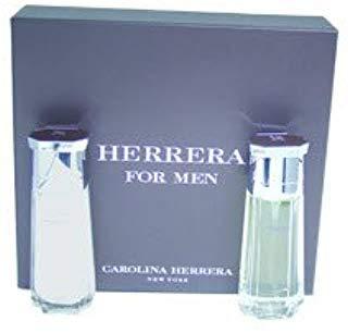 Herrera by Carolina Herrera for Men - 2 Pc Gift Set 3.4oz EDT Spray, 3.4oz After Shave Balm