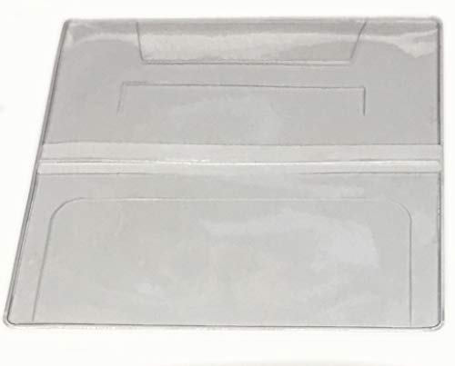 Clear Checkbook Cover Vinyl DIY Projects - Set of 5