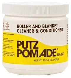 Pomade Jar - Putz Pomade Roller & Blanket Cleaner Paste, 15 1/4 Oz Jar