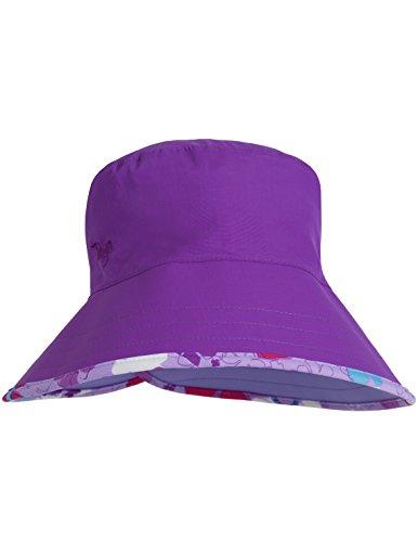 Tuga Women's Ola Sun Hats (UPF 50+), Daisy Purple, Adult - At Shops Las Olas