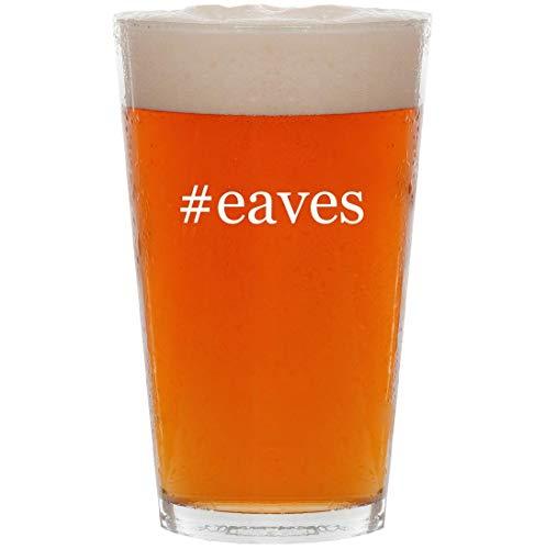 #eaves - 16oz Hashtag Pint Beer Glass
