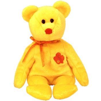 Amazon.com  1 X TY Beanie Baby - BUNGA RAYA the Bear (Malaysia ... 710130f6a46