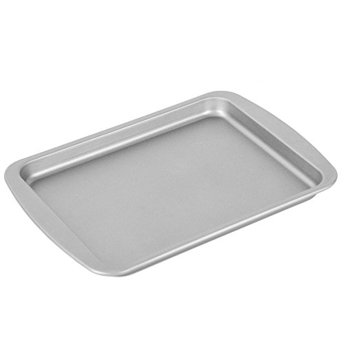 OvenStuff Non-Stick Small Toaster Oven Cookie Pan - American-Made, Non-Stick Cookie Baking Pan, Easy to Clean and Perfect for Single Servings