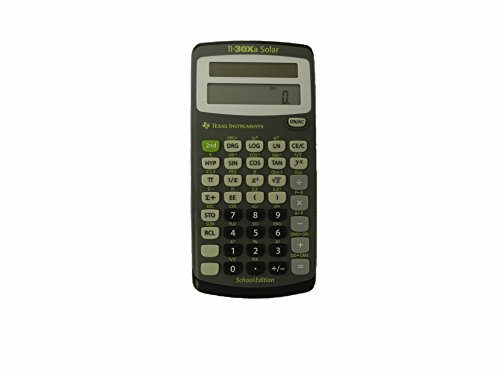 Texas Instruments TI-30XA Solar School Edition Calculator by Texas Instruments