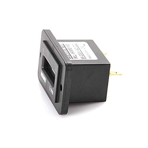 Jayron LCD Hour Meter DC4.5V-90V 5V 12V 24V 36V for Motor,Cart ...