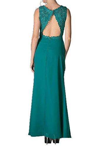 Robe Glamour Avril Cou V Dos Ouvert Bretelles Dentelle Mère De Vert Forêt Gaine Robe De Mariée