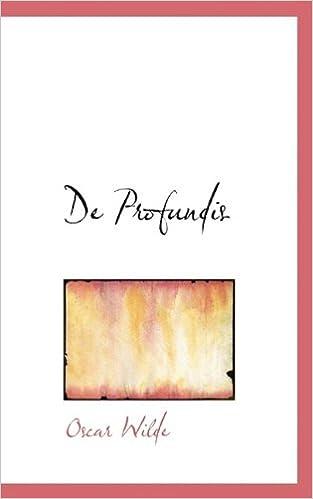 Livre gratuits en ligne De Profundis pdf ebook