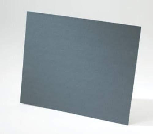 Package of 50 Grit P500B Norton Black Ice Waterproof Sanding Paper Sheets NTN-39384 9 X 11