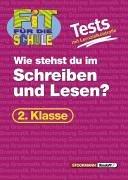 Fit für die Schule, Tests mit Lernzielkontrolle, Deutsch 2. Klasse