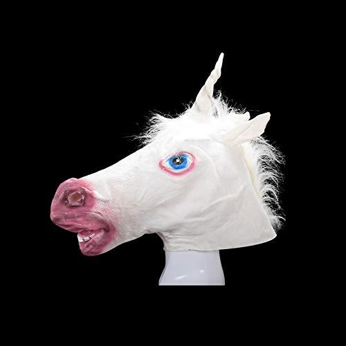 Party Masks - Unicorn Horse Head Mask Halloween