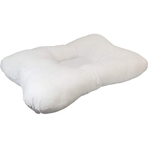 Roscoe Cervical Pillow and Neck Pillow For Sleeping - Indented Contour Pillow for Sleeping on Back or Side - 16
