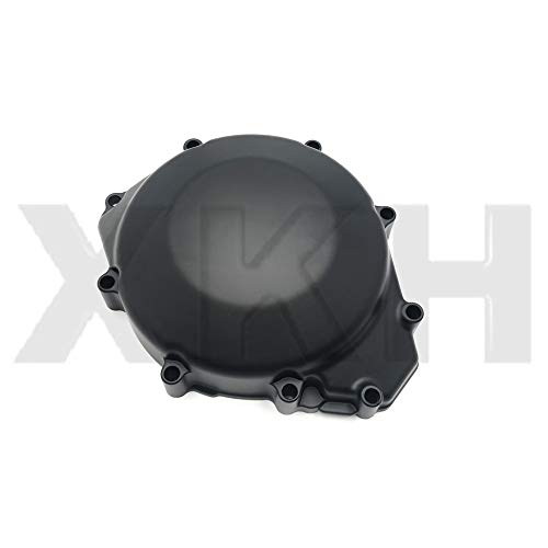 XKMT- Replacement of Left Engine Stator Cover Crankcase For YAMAHA YZF R1 1998-2003 Black Cover