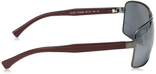 Gris Armani Grey Black Matte EA2001 Emporio Sonnenbrille wtqxBSxz