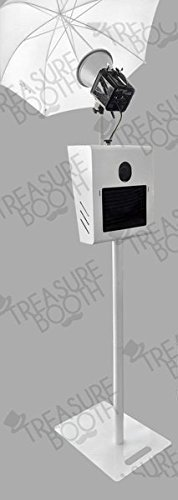 Portable Photo Booth Kiosk Tb11 20 W Printer Stand Flash Rod By