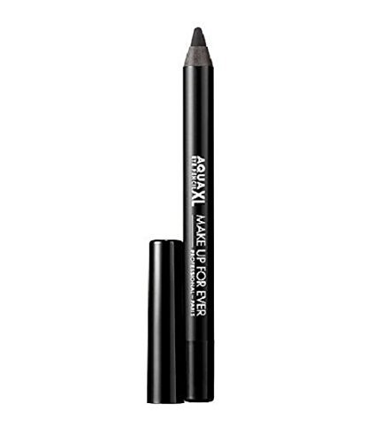 MAKE UP FOR EVER Aqua XL Eye Pencil Waterproof Eyeliner M-10 - matte black 0.02 oz (half size) (Make Up For Ever Aqua Xl Eye Pencil)