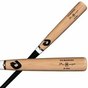 DeMarini Pro Maple 110 Composite Wood Baseball Bat (BBCOR)