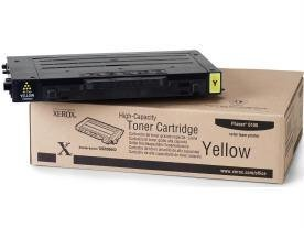 Xerox Yellow High Capacity Toner Cartridge Phaser 6100 106R00682 - By ''Xerox'' - Prod. Class: Printers/Printer Cartridge - Laser Color