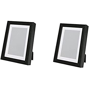 Amazon Ikea Ribba Frame Black Picture Frame Sets