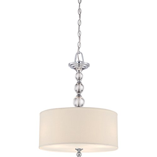 Quoizel Downtown 3 Light Drum Pendant