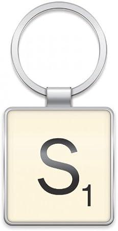Scrabble Letter Keyring