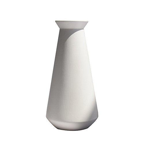 Jomop Modern Vases White Ceramic Home Decor Contemporary