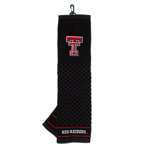 NCAA Texas Tech Red Raiders Embroidered Golf Towel - Raiders Embroidered Tri Fold