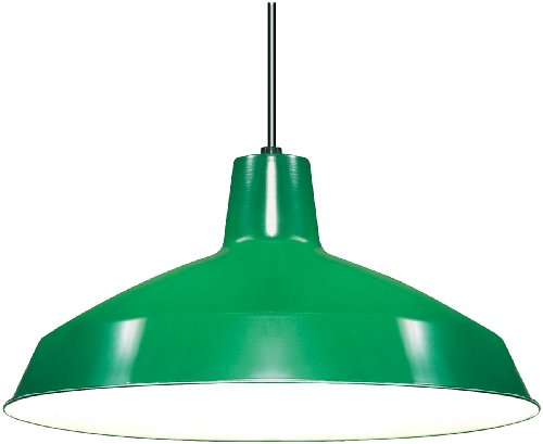 Green Glass Light Pendant in US - 3