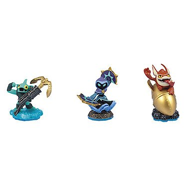 Skylanders SWAP Force Triple Character Pack: Big Bang Trigger Happy, Star Strike, Anchors Away Gill (Trigger Happy Skylander)