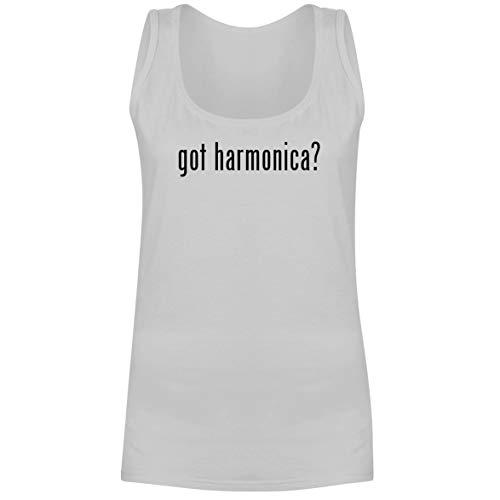 - The Town Butler got Harmonica? - A Soft & Comfortable Women's Tank Top, White, Medium
