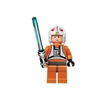 Amazoncom Lego Star Wars Mini Figure Luke Skywalker X Wing Pilot