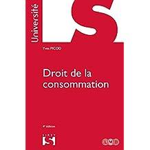 Droit de la consommation (Université) (French Edition)