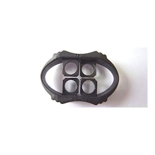 100個セット NIFCO ニフコ CL62 プラスチック コードストッパー 直径約4mm用 2つ穴タイプ コード、紐、ゴムの長さ調節などに 100個セット  B07K2YF1BF
