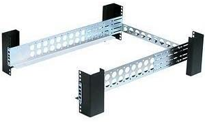 INNOVATION FIRST 1UKIT-109 Innovation First 1ukit-109-qr 1u Tool-less Fixed Rack Rail Square Hole 1UKIT-109