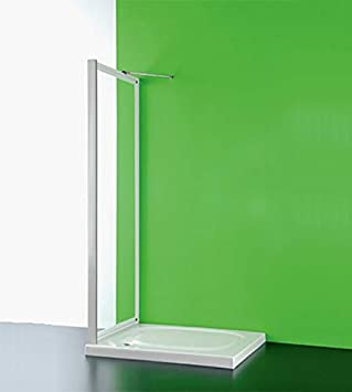 Puerta fija para Box ducha, cm.83 – 90, ajustable placa de ...