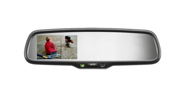 Gentex genk335s alta definición cámara trasera pantalla espejo con ...