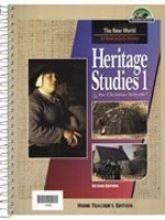 - Heritage Studies 1 Home Teacher's Edition 2nd Edition
