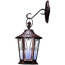 Solar LED Antique Coach Wall Lantern