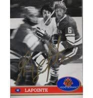 Signed LaPointe, Guy 1991 Future Trends Hockey Card autographed