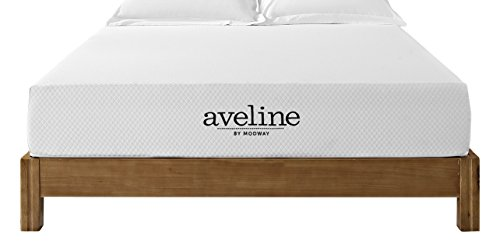 "Modway Aveline 10"" Gel Infused Memory Foam Queen Mattress With CertiPUR-US Certified Foam - 1 Year Warranty - Available In Multiple Sizes Modway©"