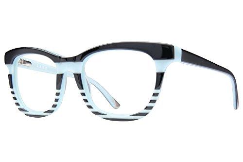 L.A.M.B. By Gwen Stefani LA007 Women's Eyeglass Frames - Black Mint