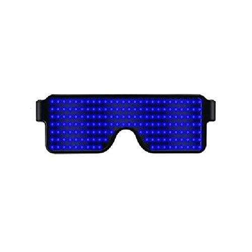 FOONEE LED Sunglasses, Neon Glow Flashing LED Light Up Glasses for Parties, Festivals, Fun, Sports, Costumes, EDM -