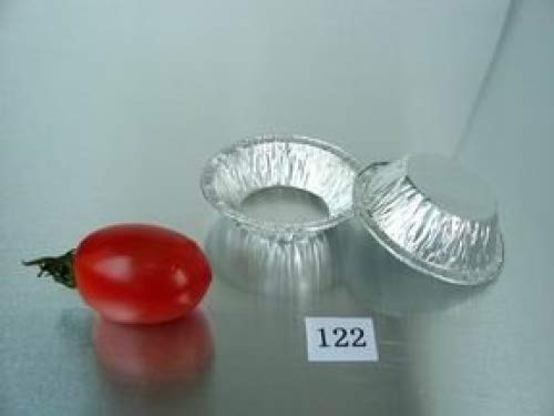 2 1/3'' Mini pie pan 3/4oz Foil Utility Cup pie pan tart pan 100/PK