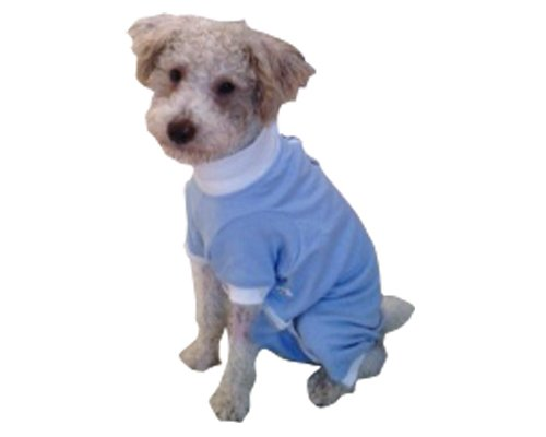 Tulane's Closet Cover Me by Tui Long Sleeve Step-Into Closet for Pets, Large, Blue