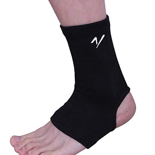 Black Guard Adjustable Ankle Protector Brace Sports Accessory Foot Support
