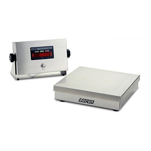 Square Bench Scale Base (Bench/Floor Scale DORAN 7050XL/12 Stainless Steel 50 lb x 0.01 lb)